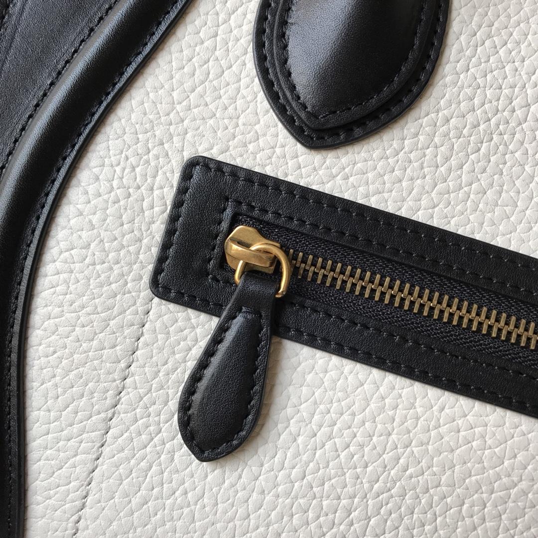 CELINE 新色笑脸包 海外原单 LUGGAGE牛皮手袋 金色五金 26cm