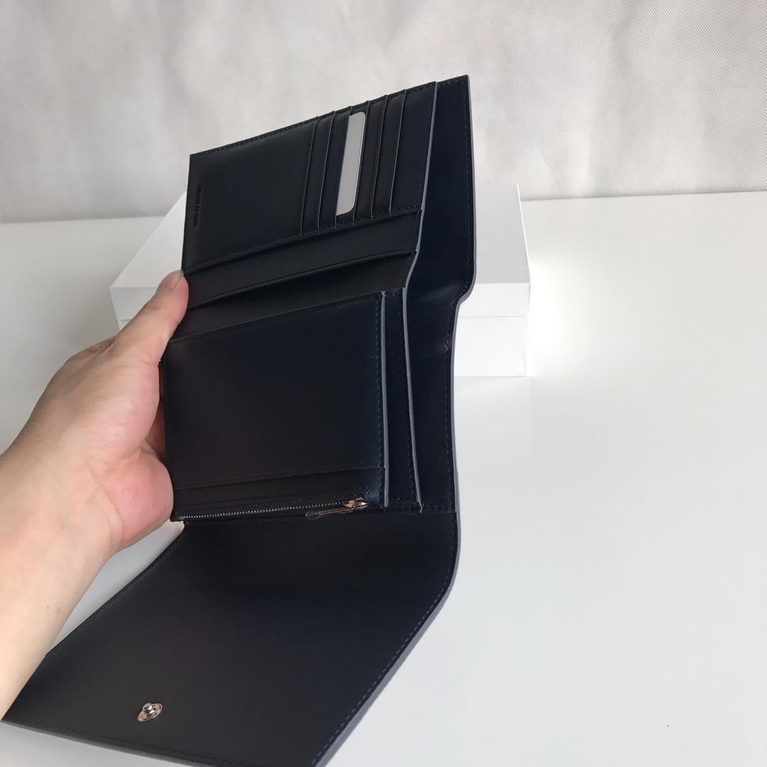 CELINE 16厘米 玫红拼深蓝色 手拿钱包 原厂定制五金