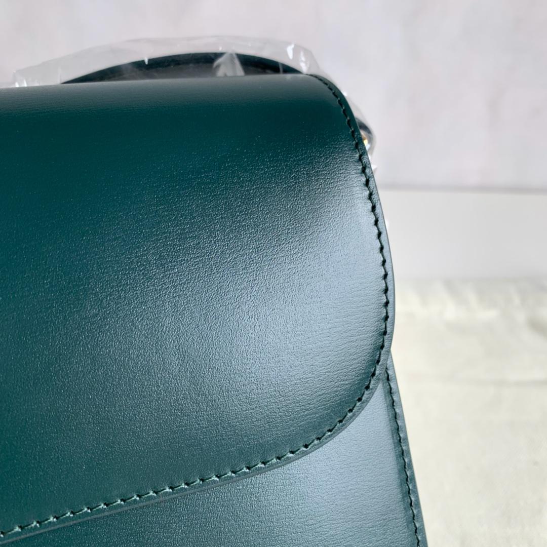 全新box 金扣 搭配羊皮内里 完美复古包 平整的水油边 精致媲美专柜 25cm