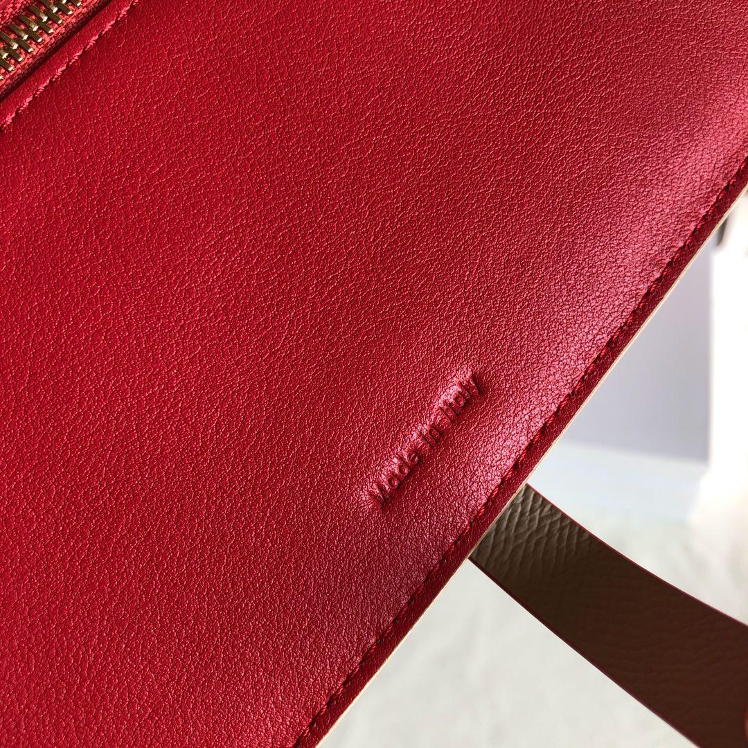 CELINE 钱夹 浅杏色手掌纹/玫红色 19cm 卡包 钱包