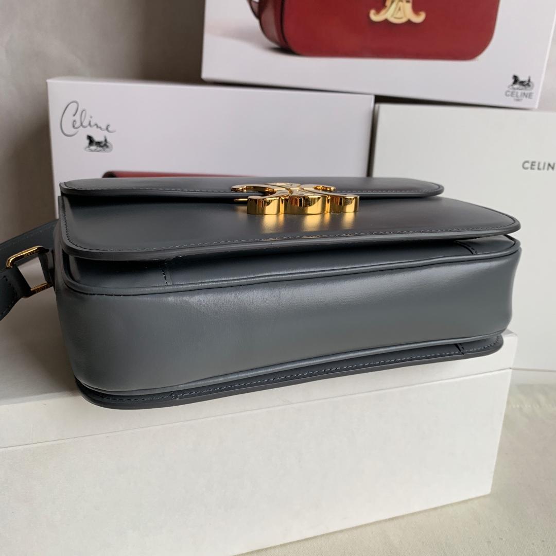 全新box 凯旋门扣 金扣 搭配羊皮内里 完美复古包 平整的水油边 精致媲美专柜 20cm