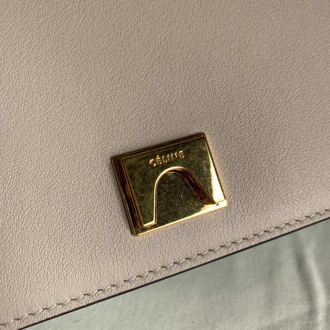 CELINE包包 Frame 唐嫣同款 宽肩带 大容量 25*8.5*17cm 冷淡风范