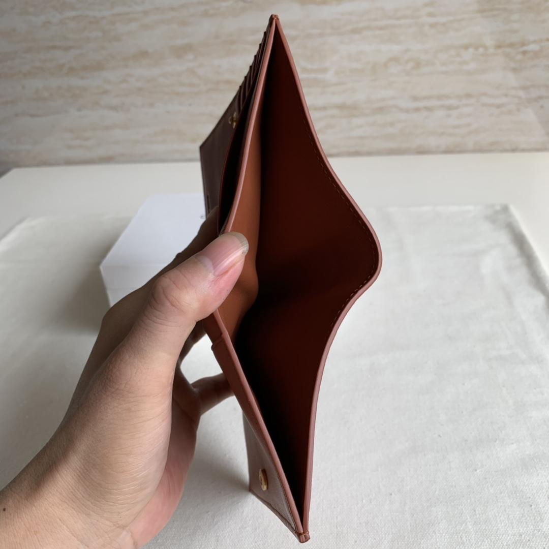 2148 冰箱兰/枫树棕 短夹 钱包